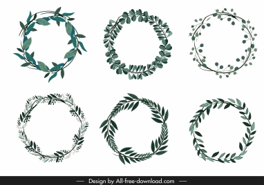 wreath template free svg # 34