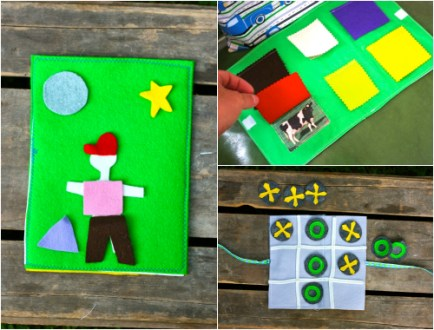 Are We There Yet   3 DIY Travel Games That ll Keep Kids Happy     DIY felt travel games