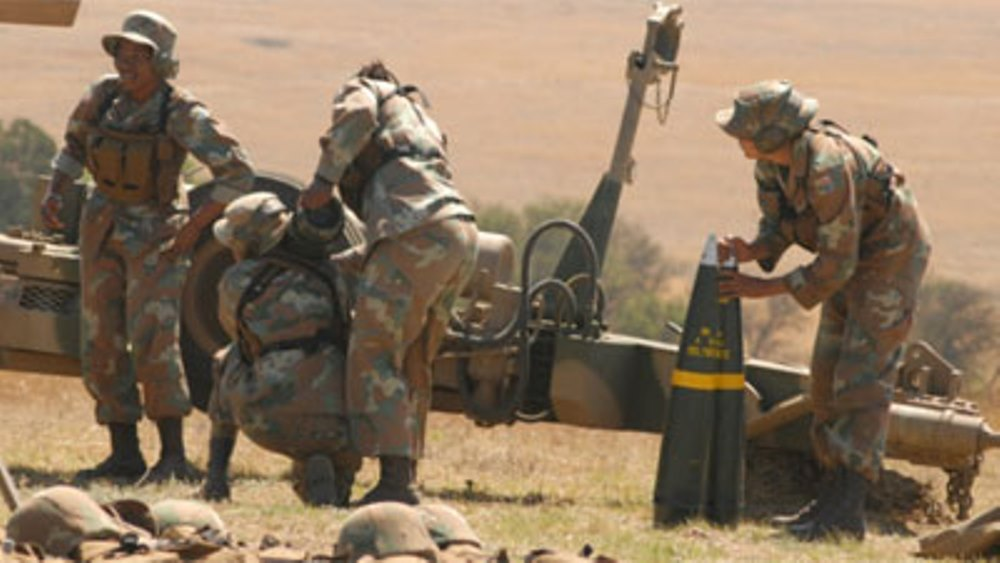 South African Forces Military