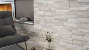 Wall Art 3D Wood Look Ledger Wall Tile Ceramica Rondine