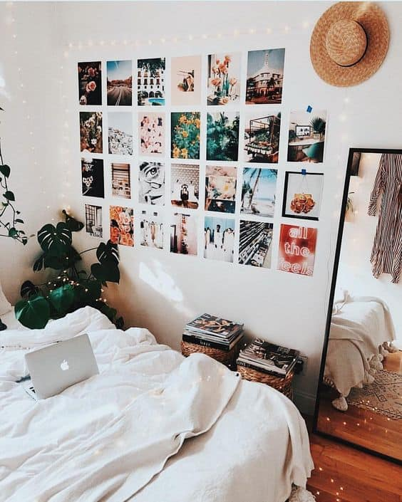 8 Cute Gallery Wall Ideas To Copy for Your College Dorm Room   By     8 Cute Gallery Wall Ideas To Copy for Your College Dorm Room