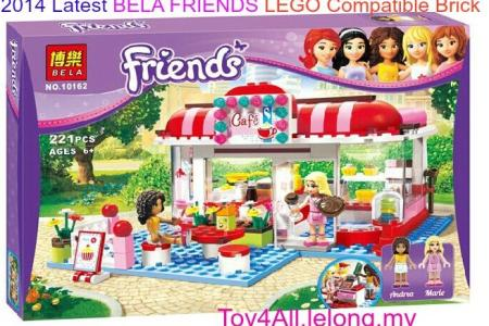 Lego Friends Mapa Heartlake City Path Decorations Pictures Full