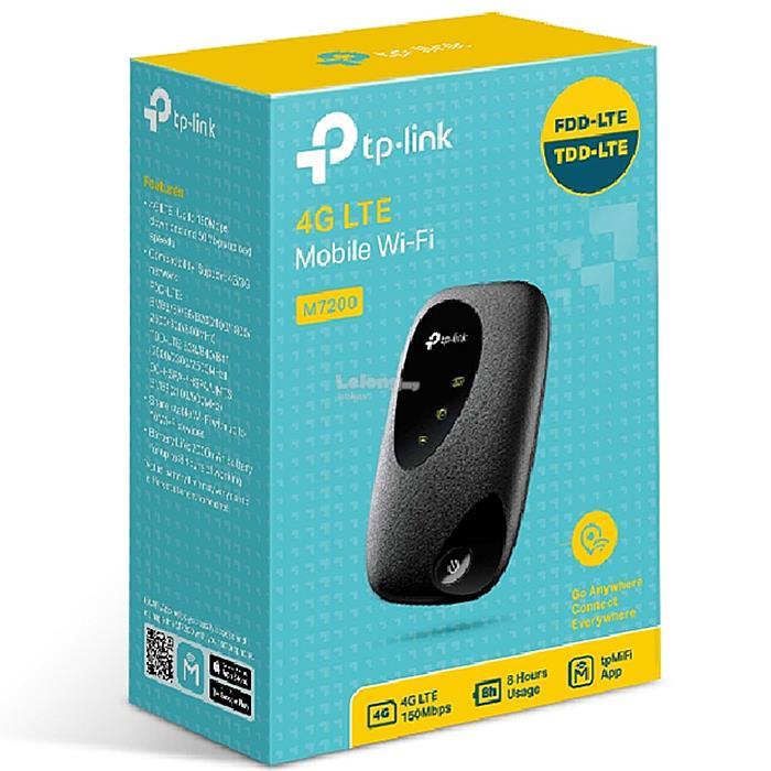 Tp Link M7200 4g Lte Portable Mobil End 7 30 2020 12 00 Am