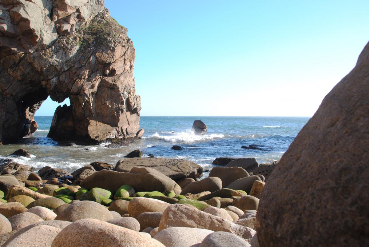 Blue Landscape Rocks