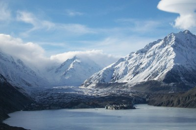 Free Images : snow, mountain range, glacier, alps, new ...