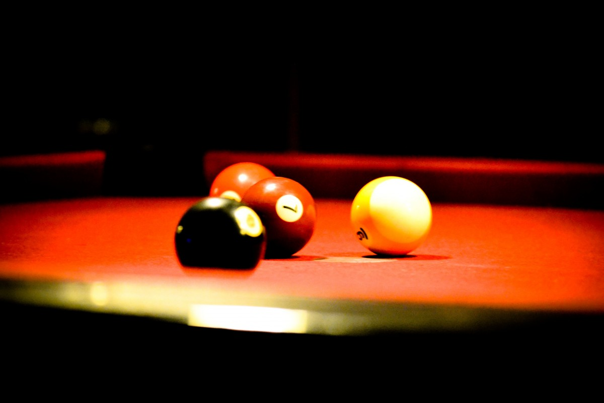 Free Images Play Recreation Pool Bar Red Snooker