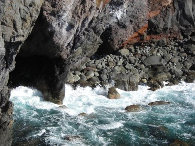 Free Images : coast, rock, waterfall, wave, wall, river ...