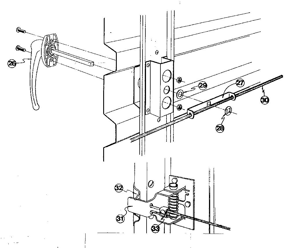 Garage door replacement track