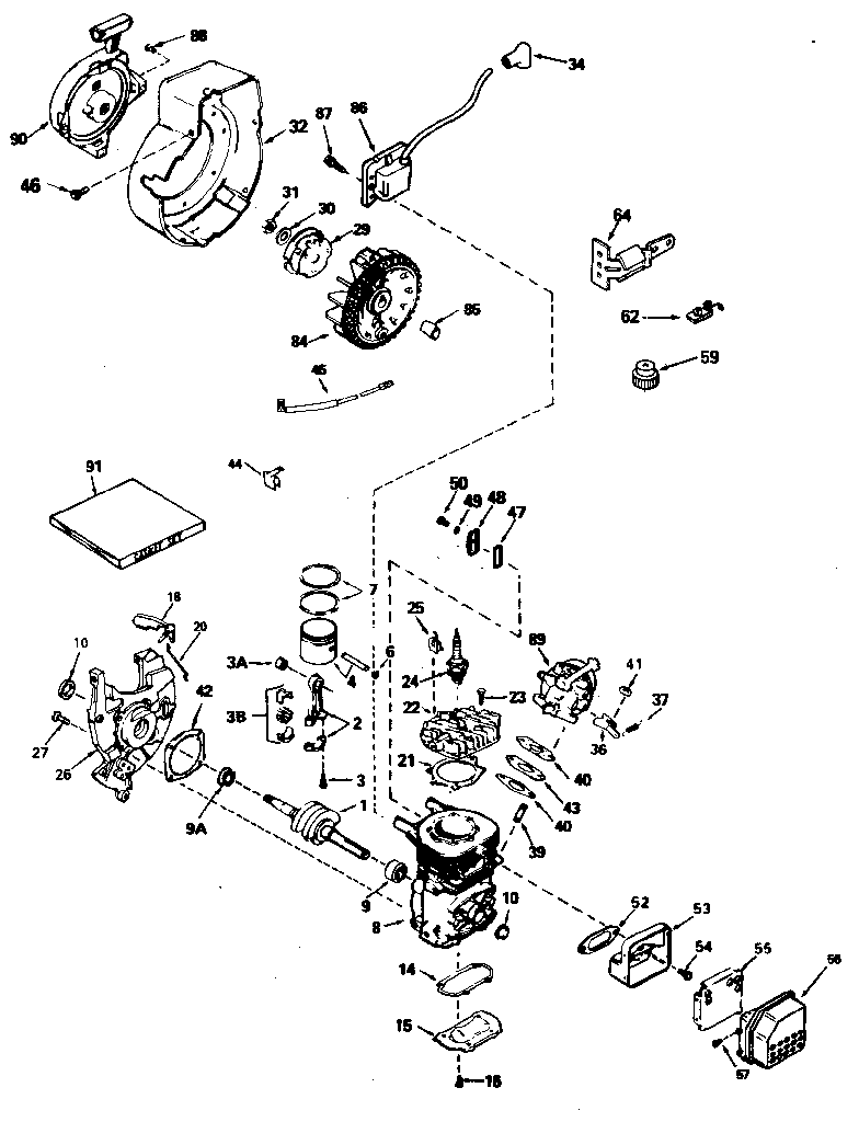 Briggs mag o wiring diagram wiring diagrams schematics tecumseh tecumseh 3 h p engine parts model ah6001627n sears