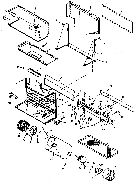 Wiring diagram contemporary everything broan model 113023 range hood genuine parts