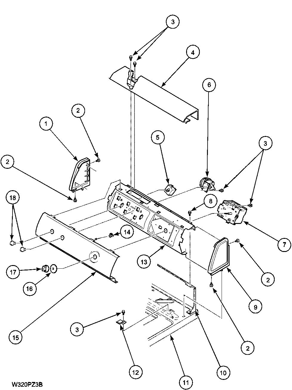 Amana amana washer top loading parts model lwa40al2plwa40al2 sears partsdirect