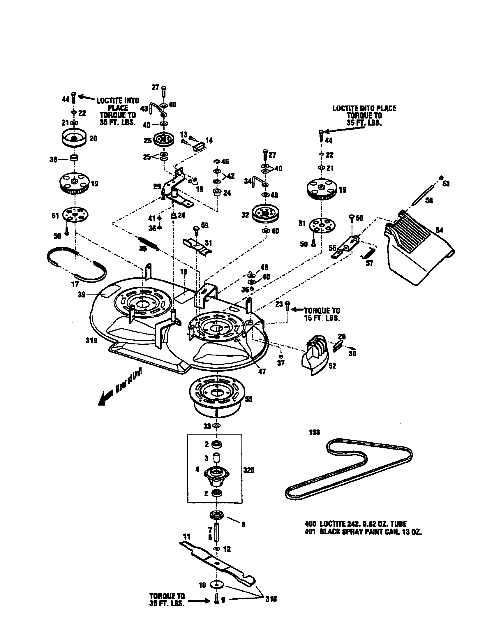 Craftsman mower parts model 987889010 sears partsdirect