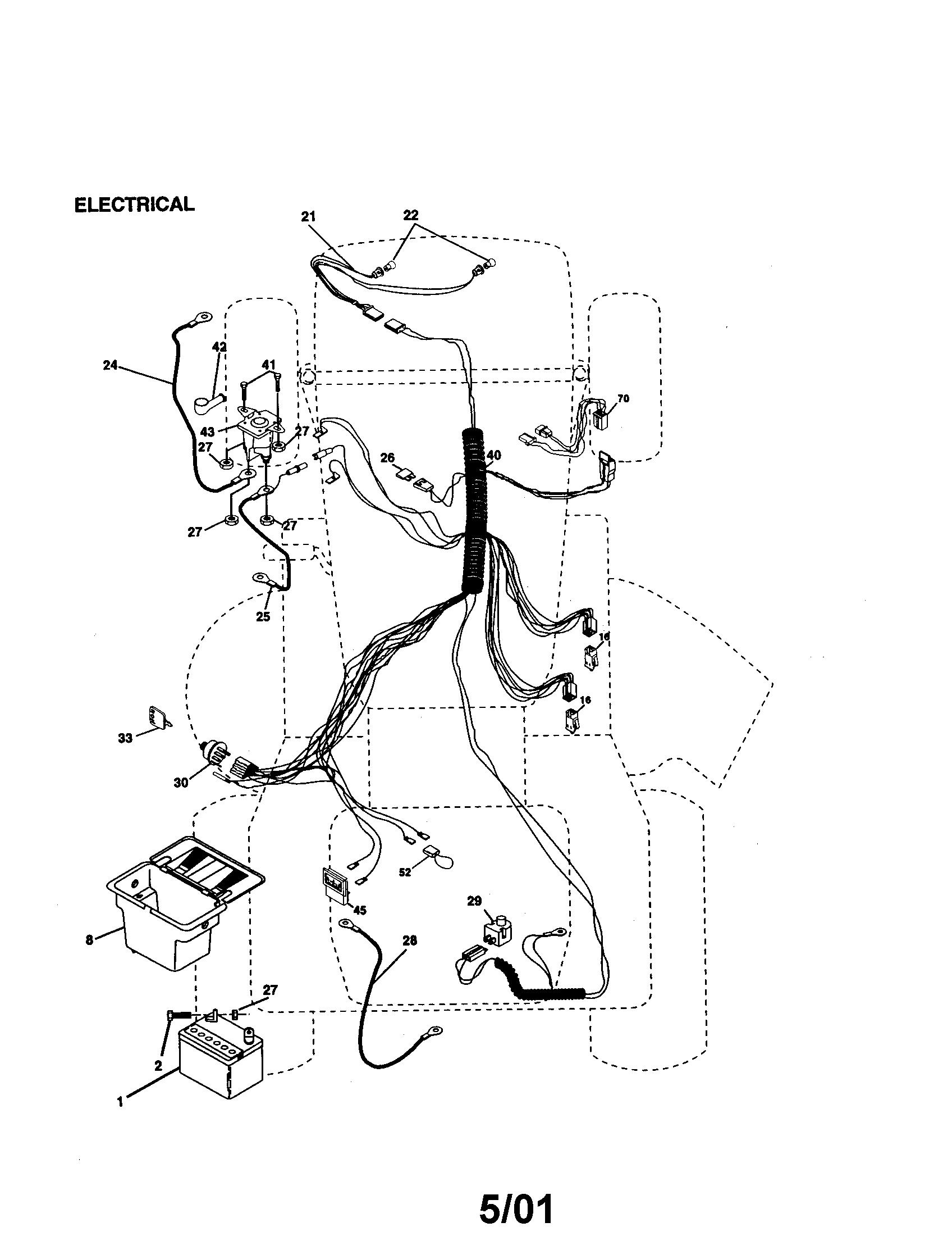 Craftsman 14 5hp 42