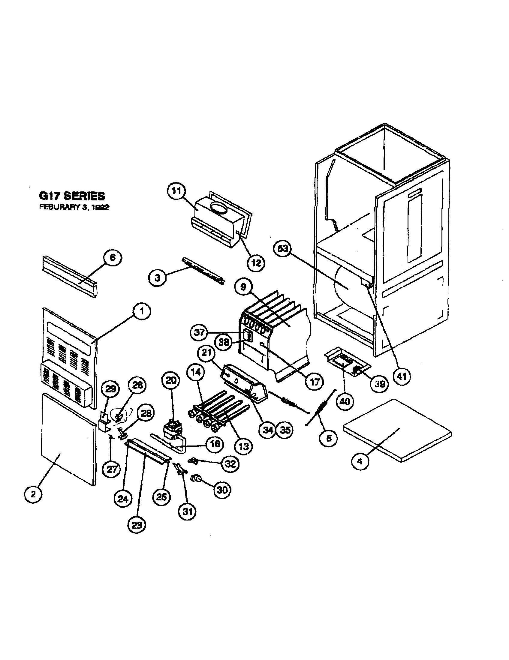 Lennox furnaces parts photos