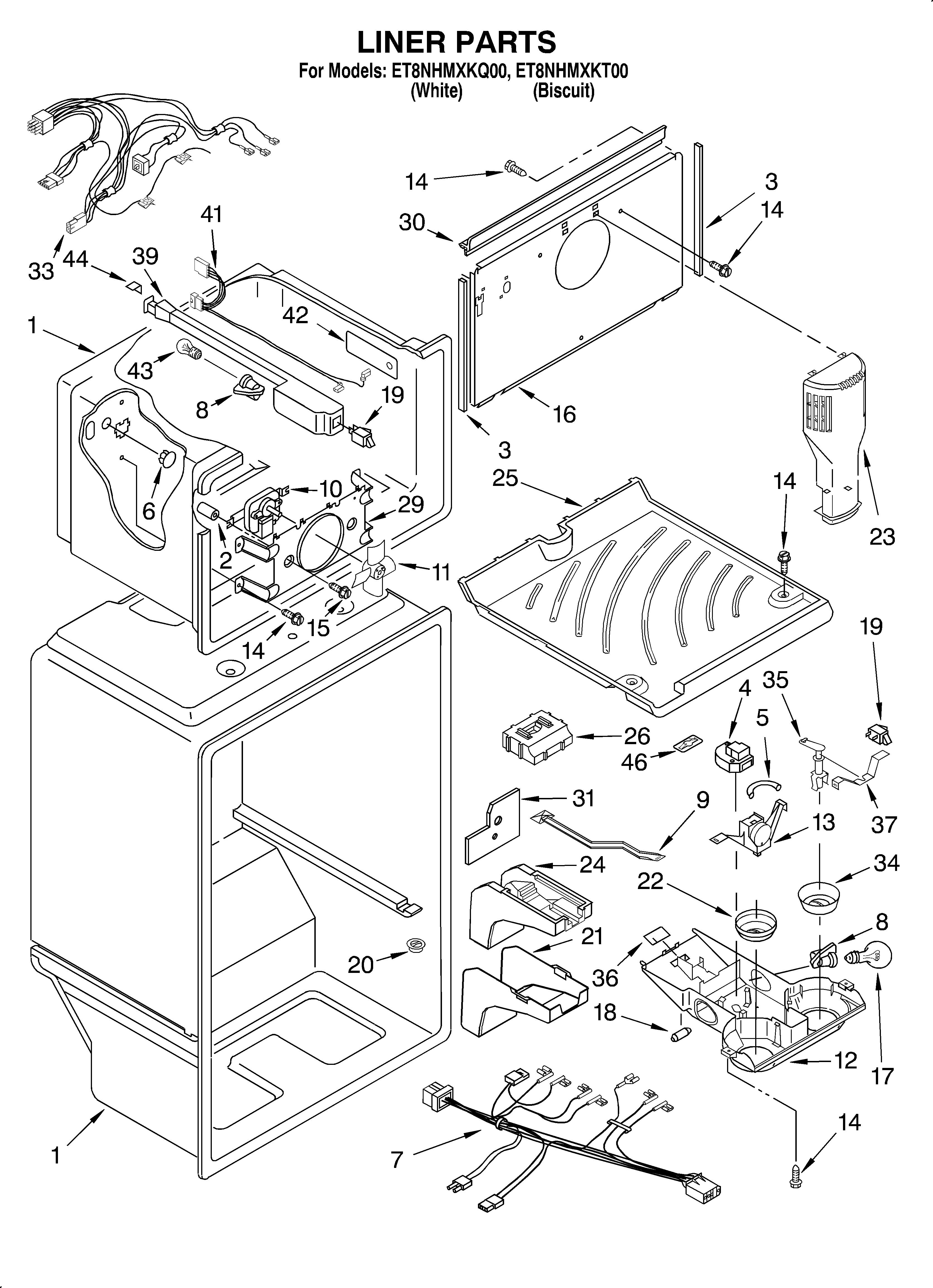 Amana refrigerator parts model abc2037des nissan alternator wiring