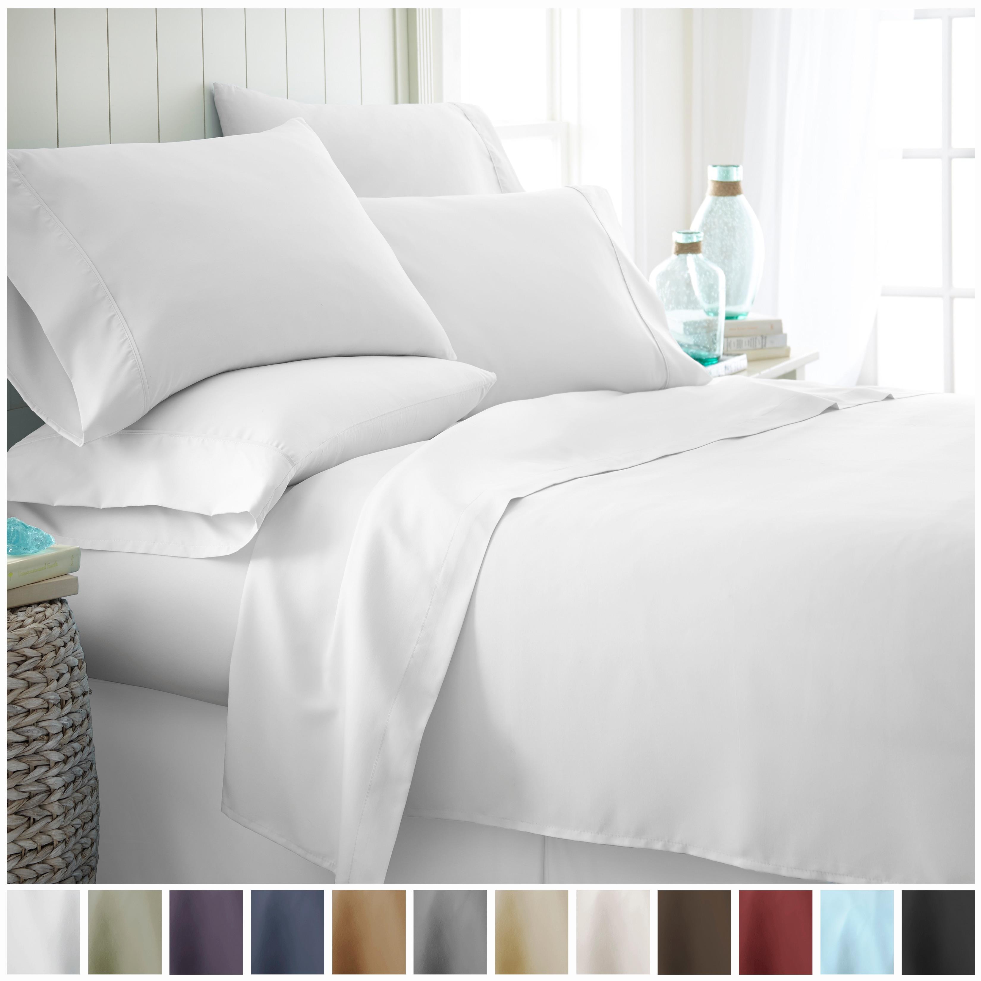 ienjoy Home Premium Ultra Soft 6 Piece Bed Sheet Set