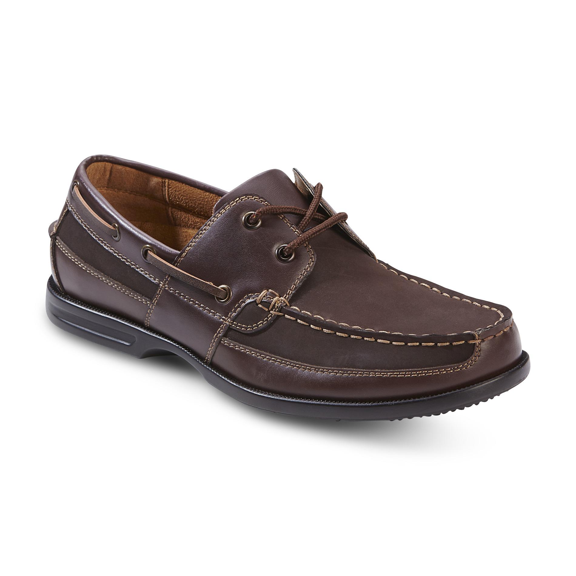 Nunn Bush Men S Avalon Nubuck Smooth Leather Boat Shoe