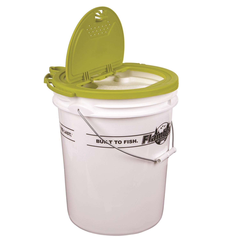 5 Gallon Buckets Lids Food Storage