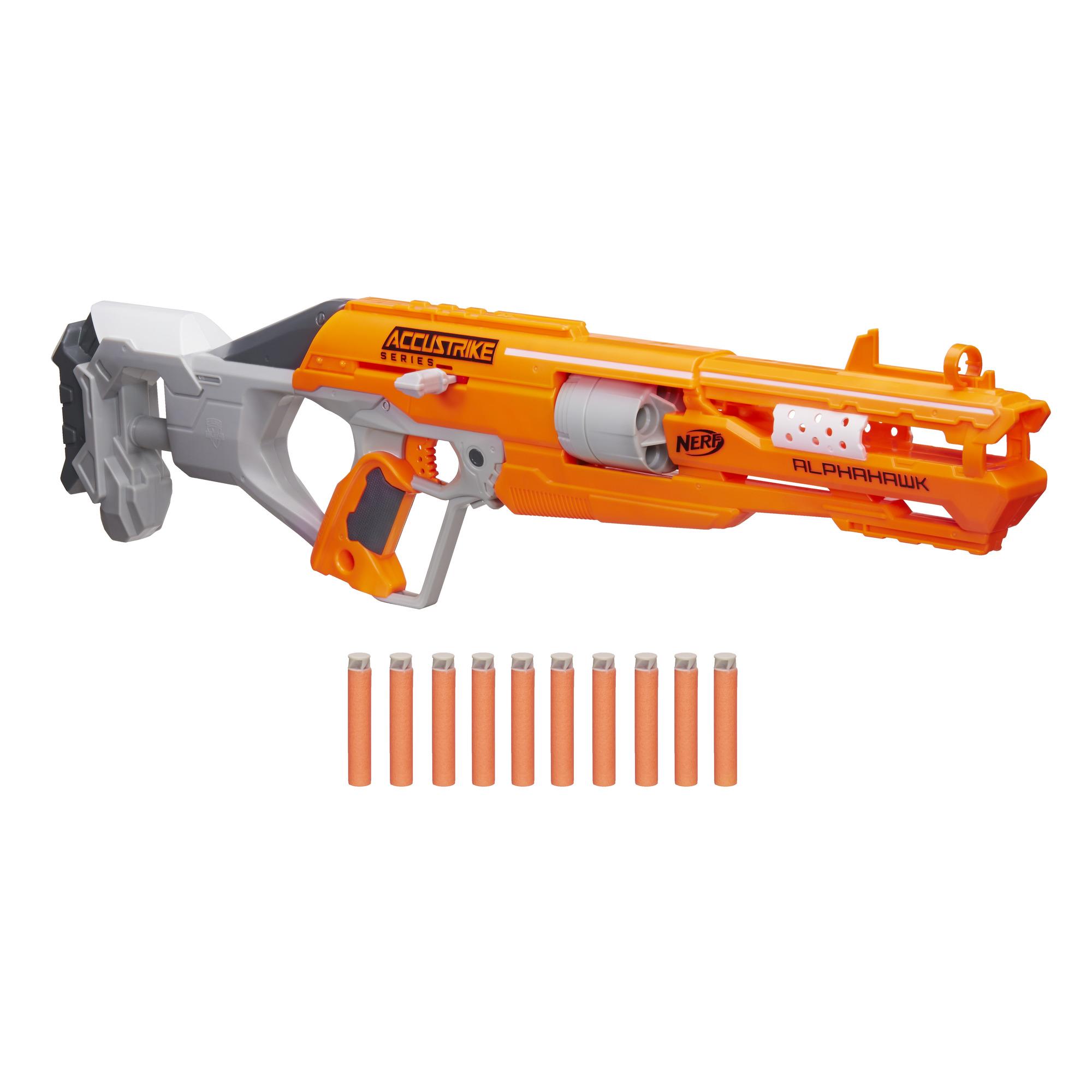 Nerf N Strike Elite Accustrike Alphahawk Blaster