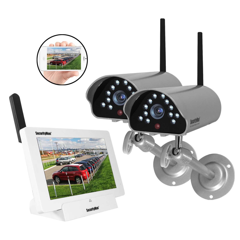 Outdoor Camera Security Cordless