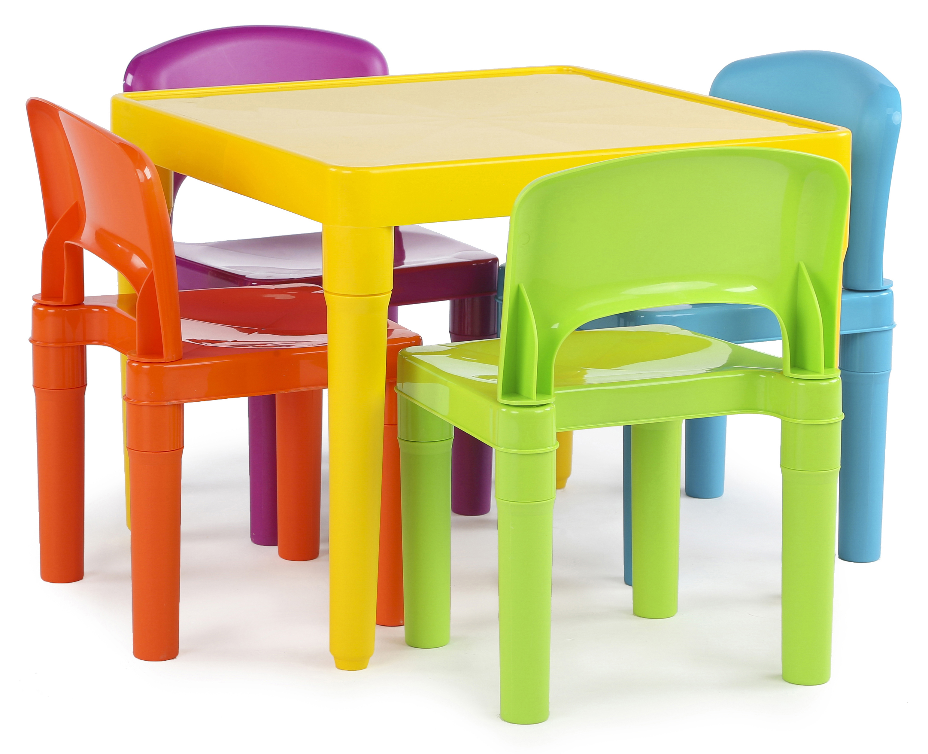 Kids Table And Chairs Set Childrens Toddler Play Tables