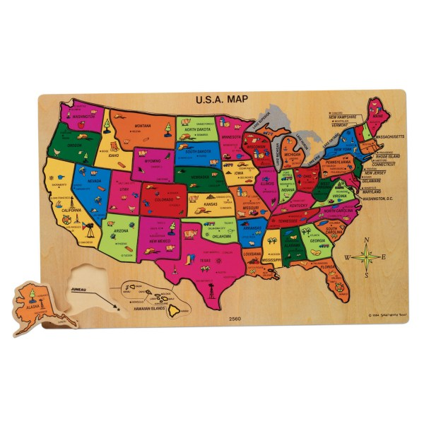 usa map puzzle » Full HD Pictures [4K Ultra] | Full Wallpapers