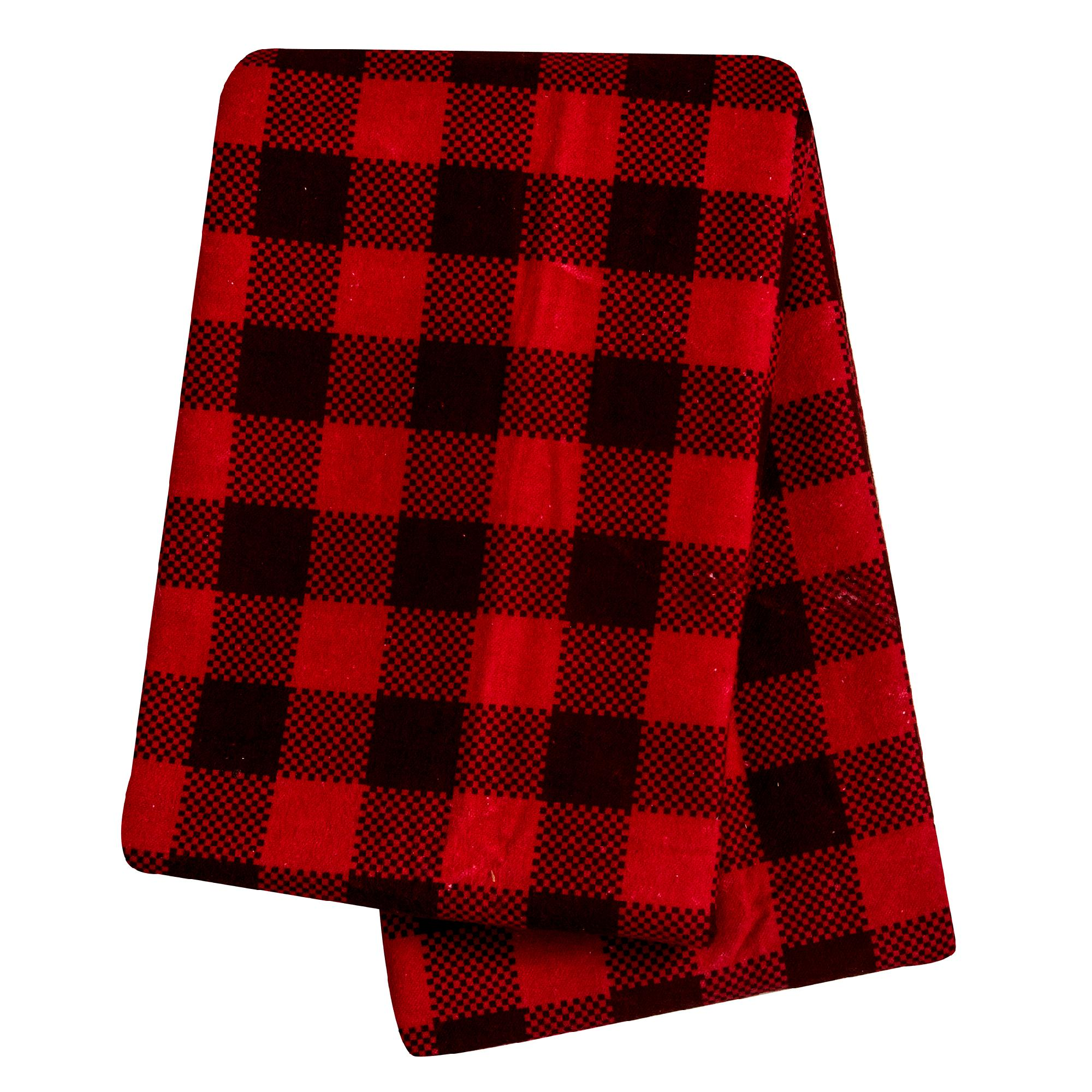 Trend Lab Swaddle Blanket Brown And Red Check Print