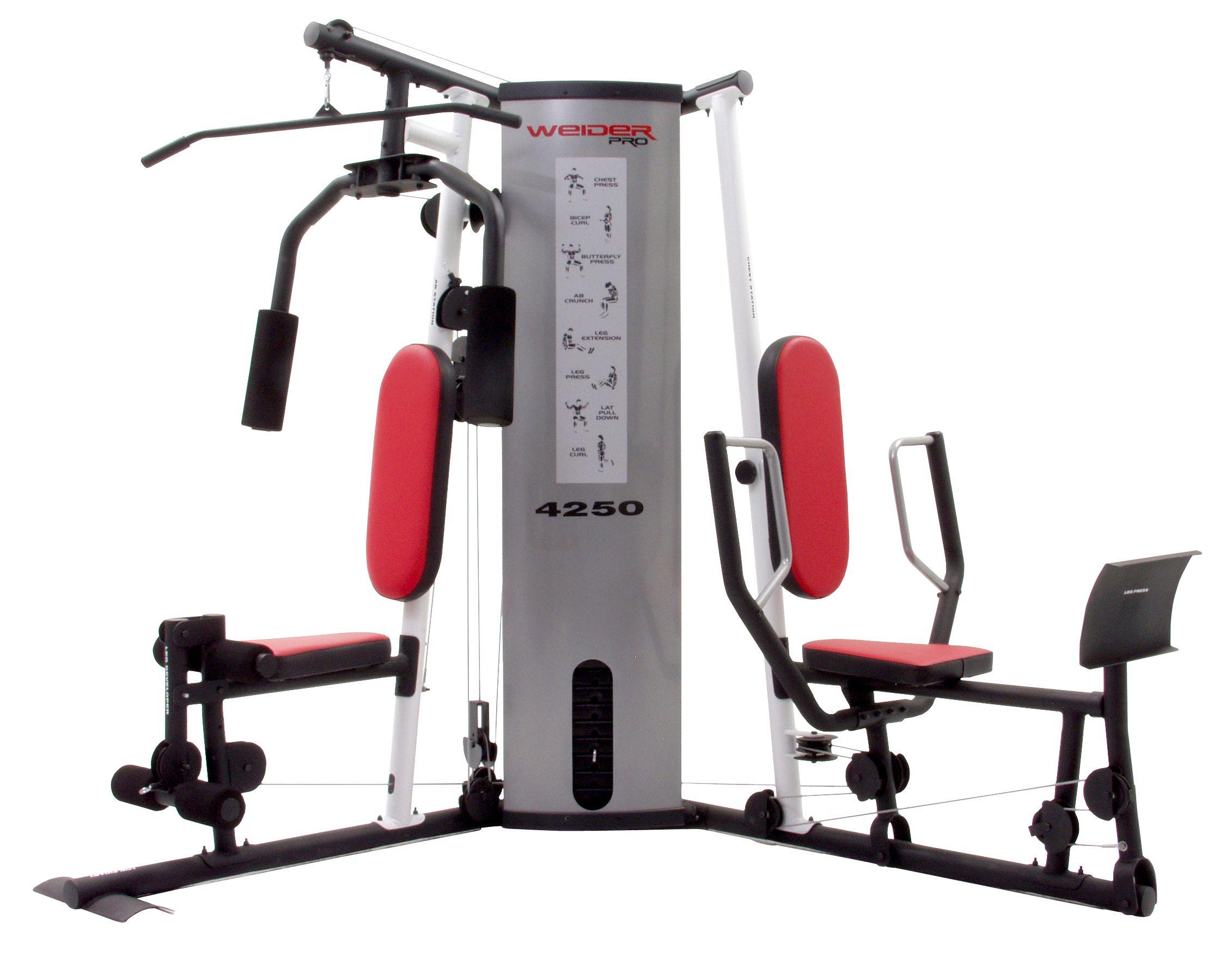 Weider Pro 4250 Weight System