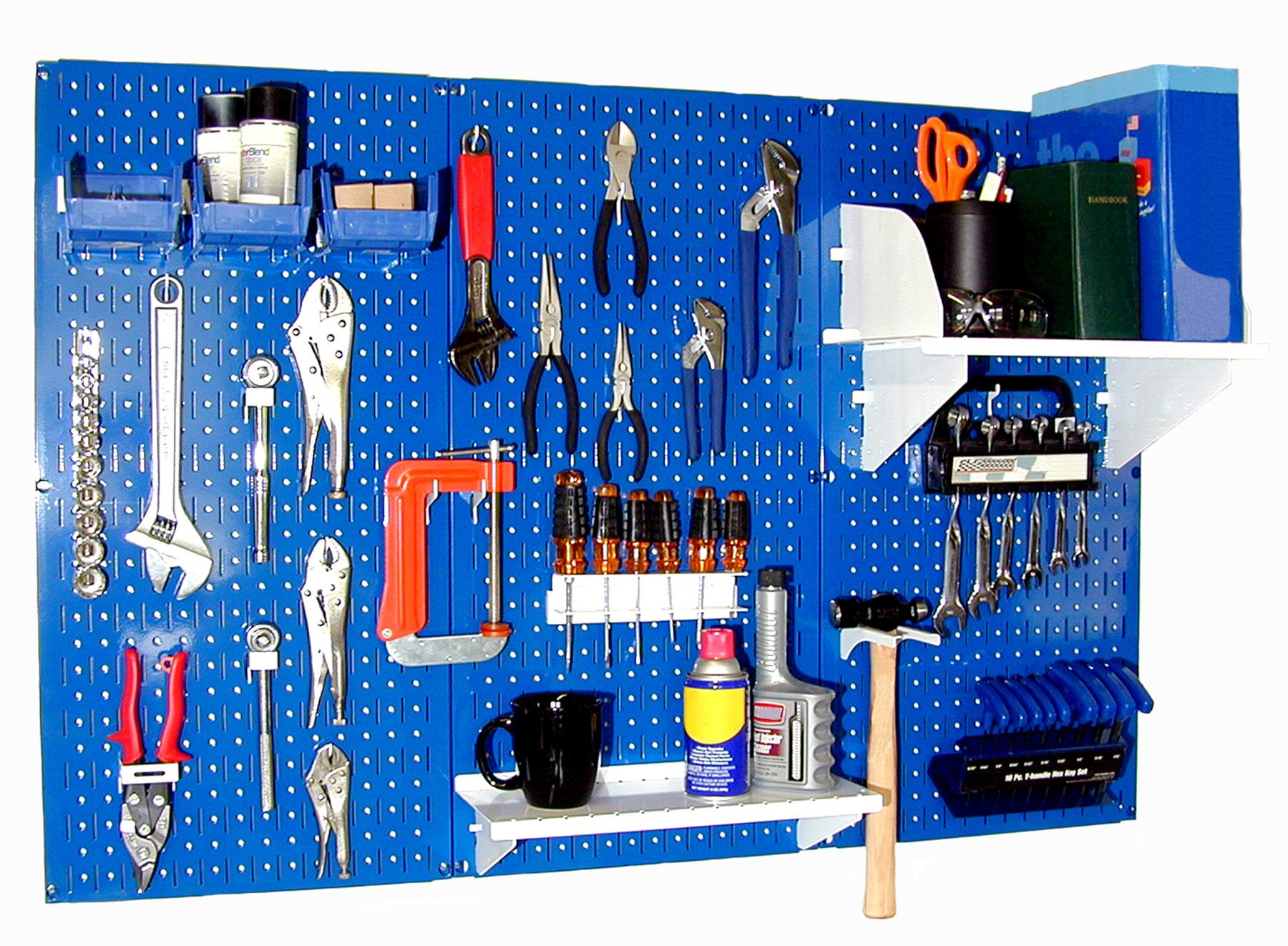 Wall Control Standard Workbench Metal Pegboard Tool