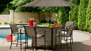 Garden Oasis 5 Piece Patio Bar Set: Have Fun Hosting With