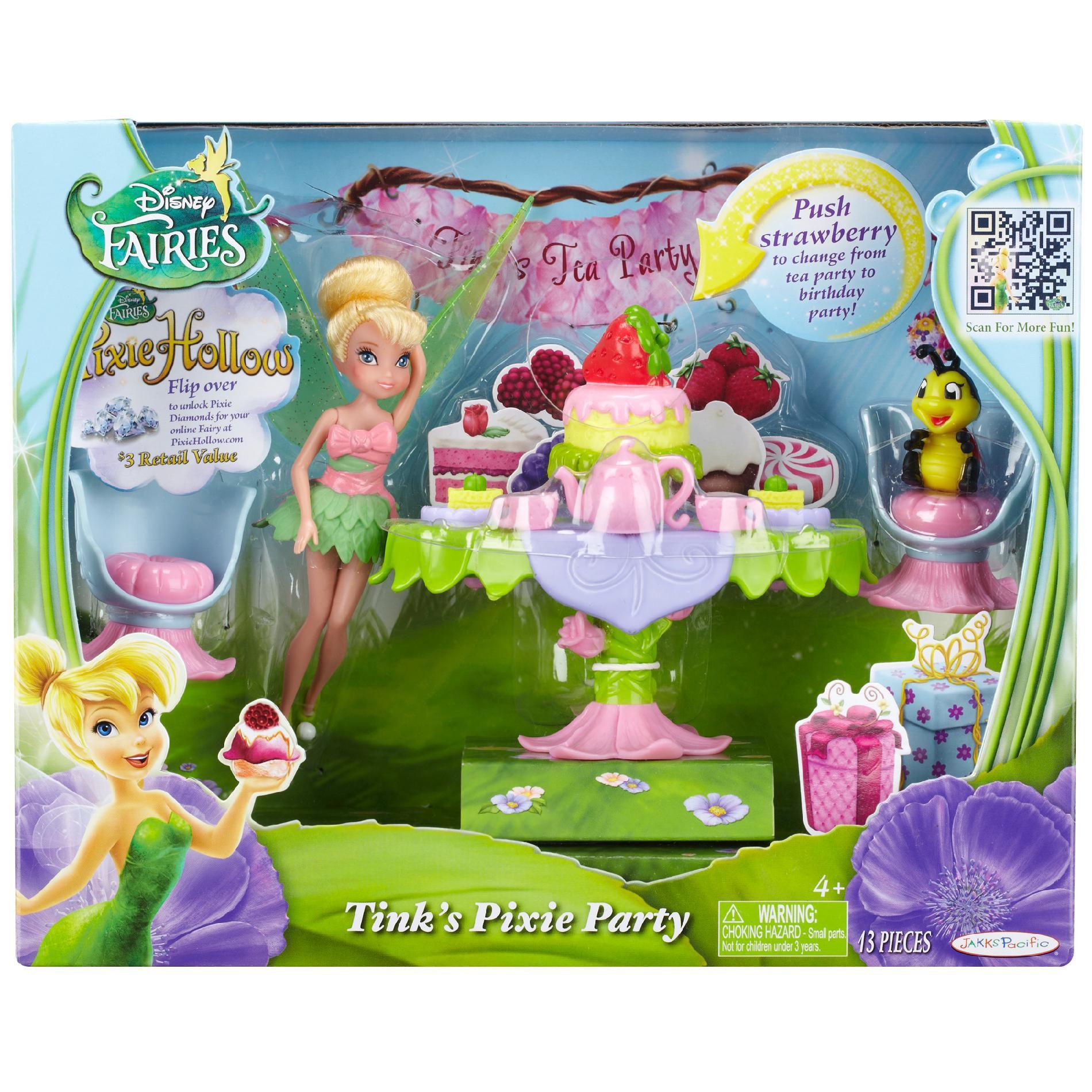 Disney Fairies Tink's Pixie Party - Toys & Games - Dolls ...