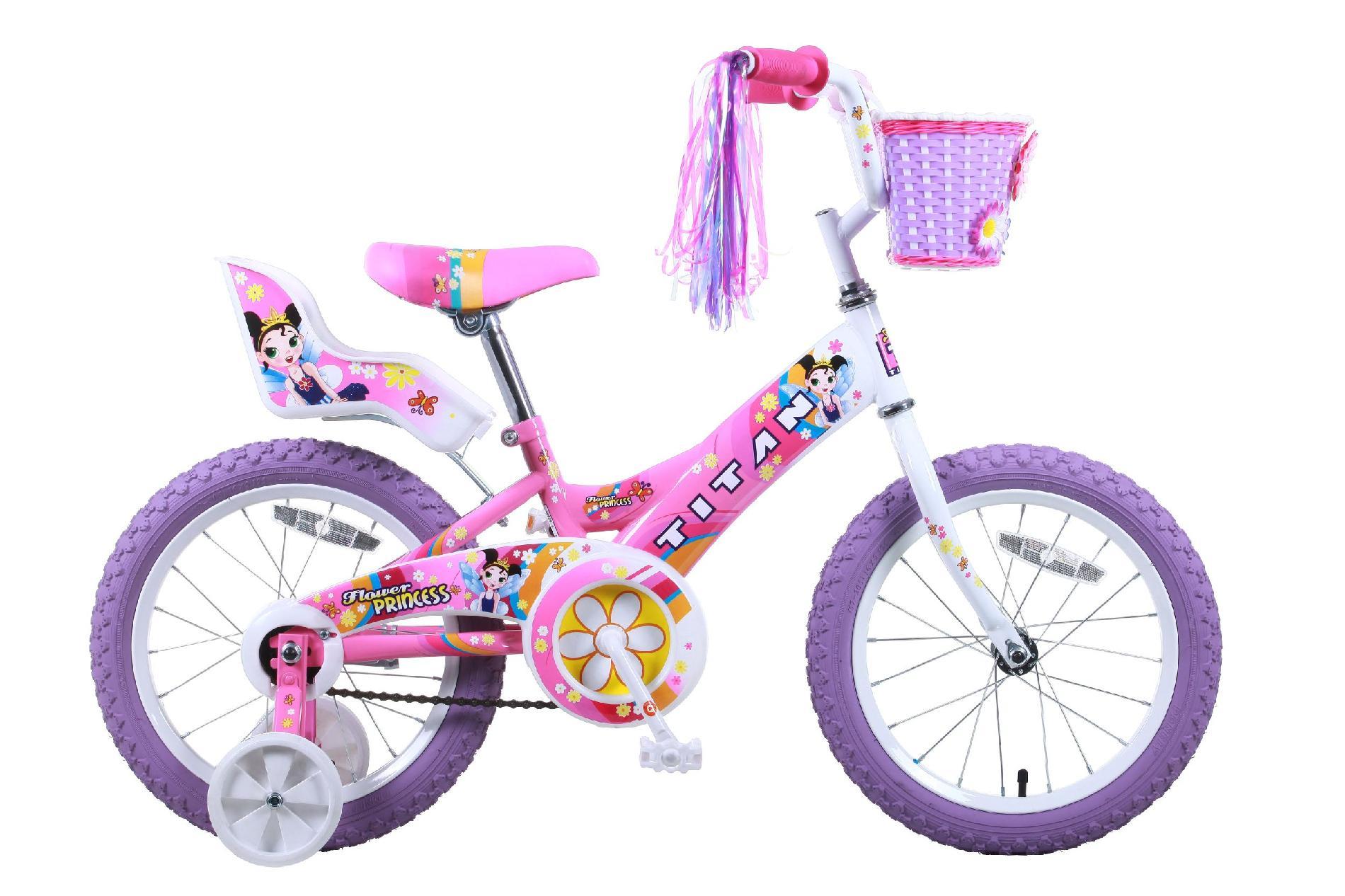 16 Inch Doll Pink Bike Seat