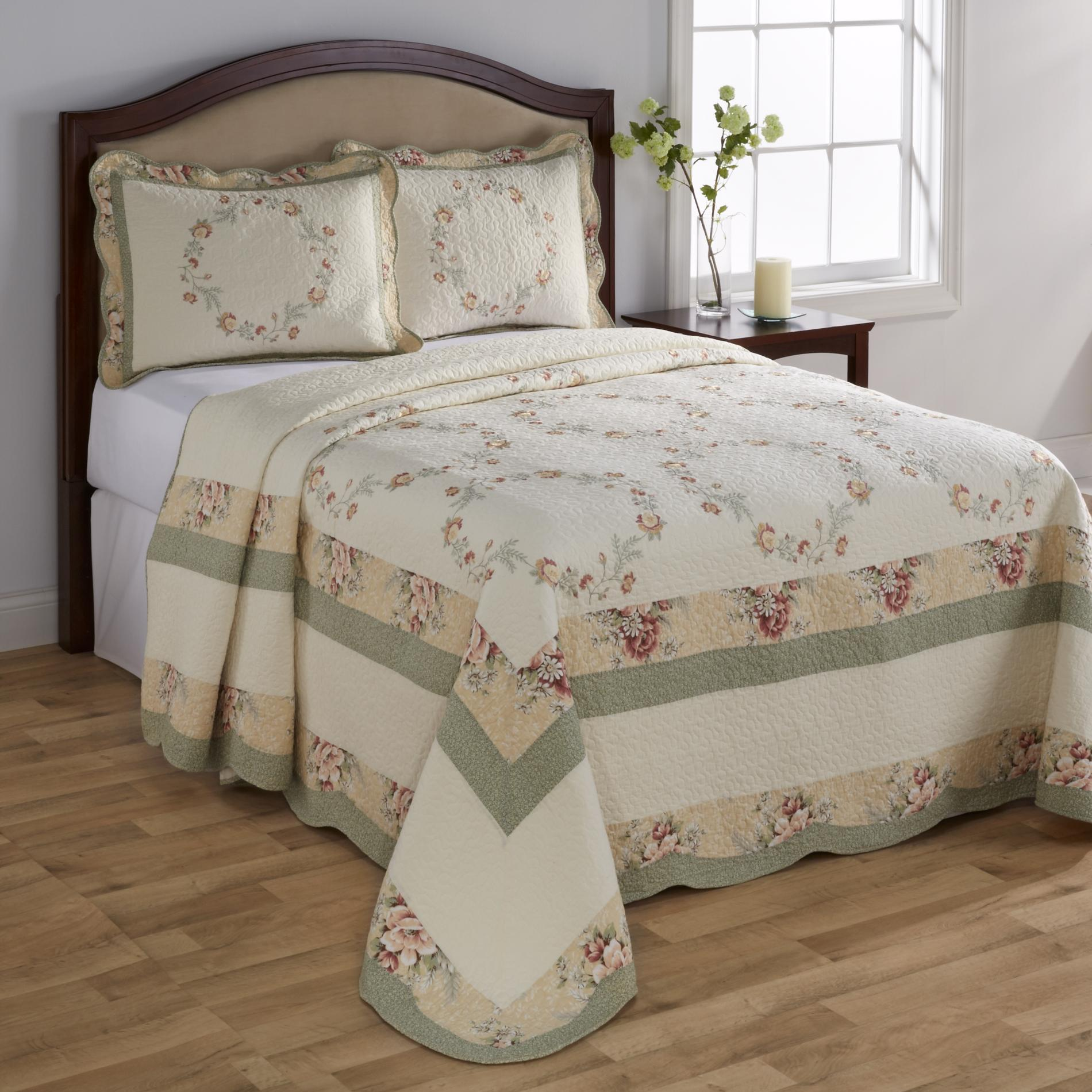 Cannon Elisabeth Quilted Bedspread