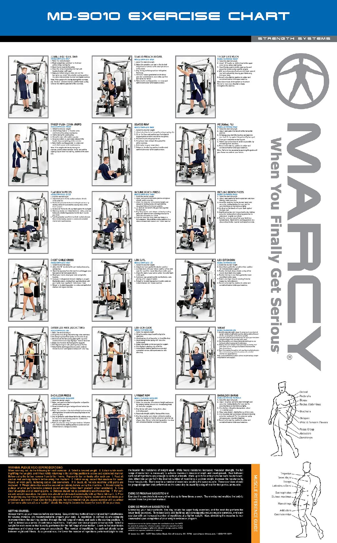Marcy Diamond Elite Personal Trainer Cage System Fitness