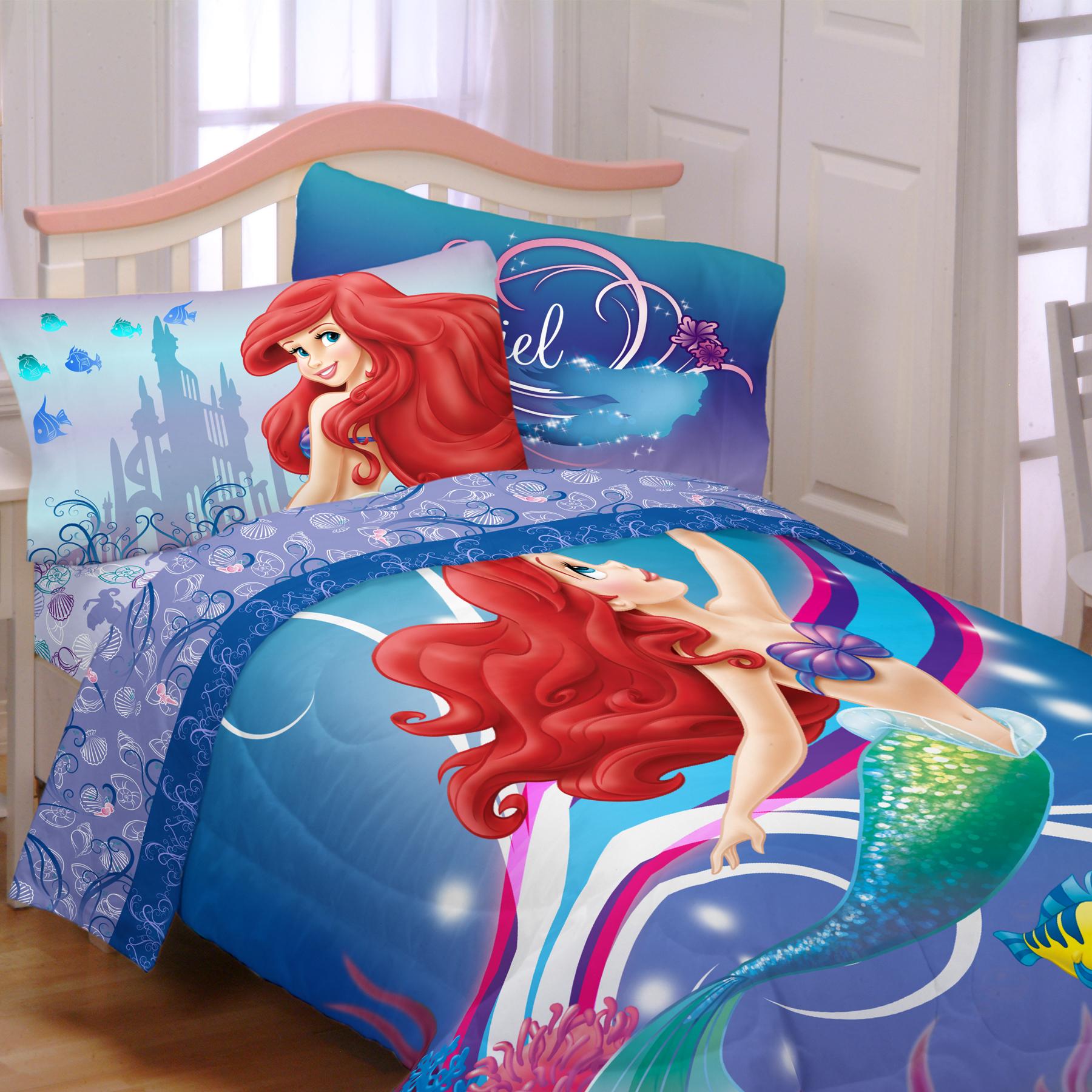 Disney Girl S Little Mermaid Twin Comforter