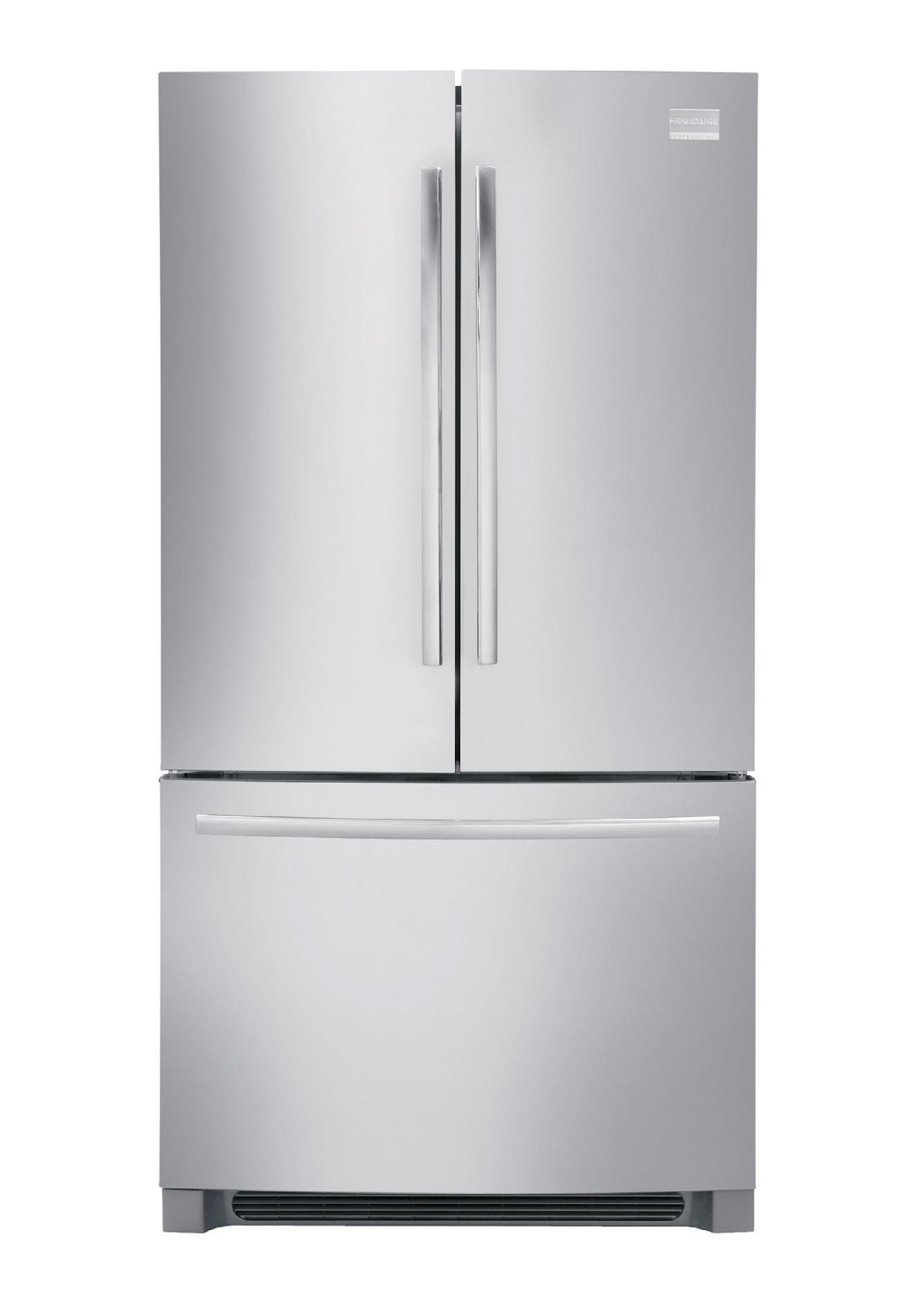 Stainless French Refrigerator Door Steel Proof Smudge