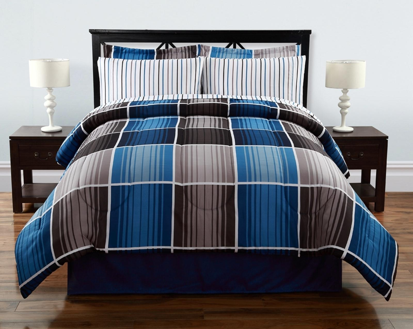 Colormate Complete Bed Set Cooper Plaid