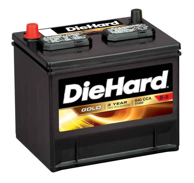 Walmart Auto Battery Prices DieHard Gold Automotive Battery   Group Size JC 35  Price with Exchange