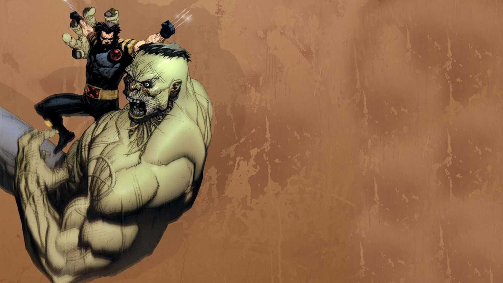 hulked out wolverine - HD1600×900