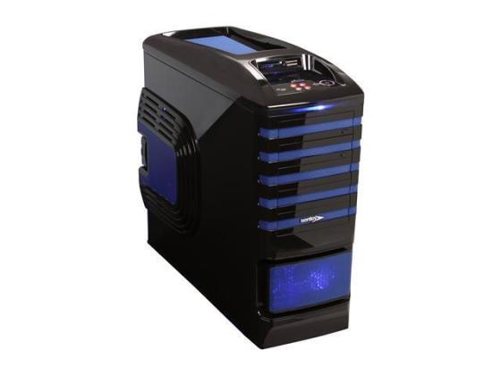 Sentey Extreme Division GS 6500B Burton Blue Tower Case 6x Fan LED     Sentey Burton Series GS 6500B Black   Blue 1mm SECC   Plastic ATX Full Tower