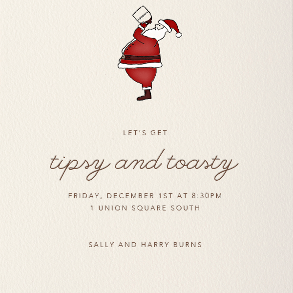 Christmas Save Date Invitations