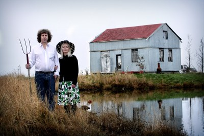 Icelandic gothic | My mom and dad at our summerhouse in ...