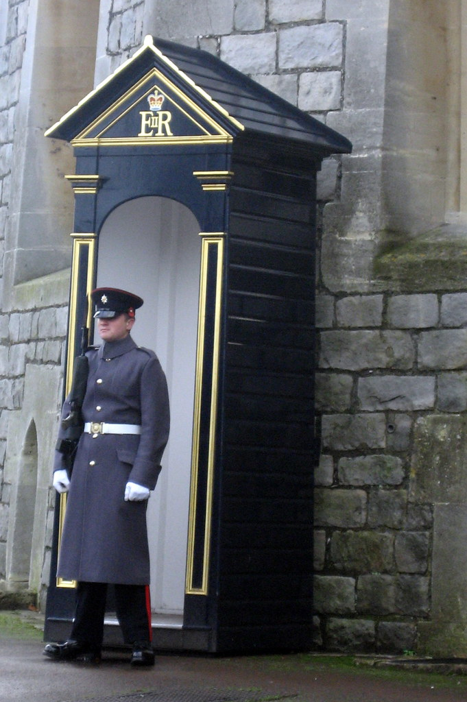 Uk Windsor Windsor Castle Queen S Guard The Queens