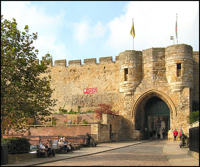 East Gate Lincoln Castle This Gateway The Main And