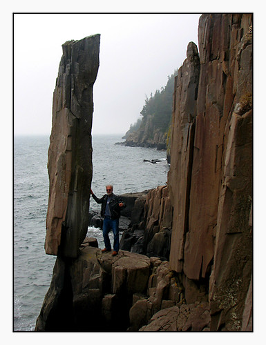 Balancing Rock at Long Island, Digby Neck | We met a very ...