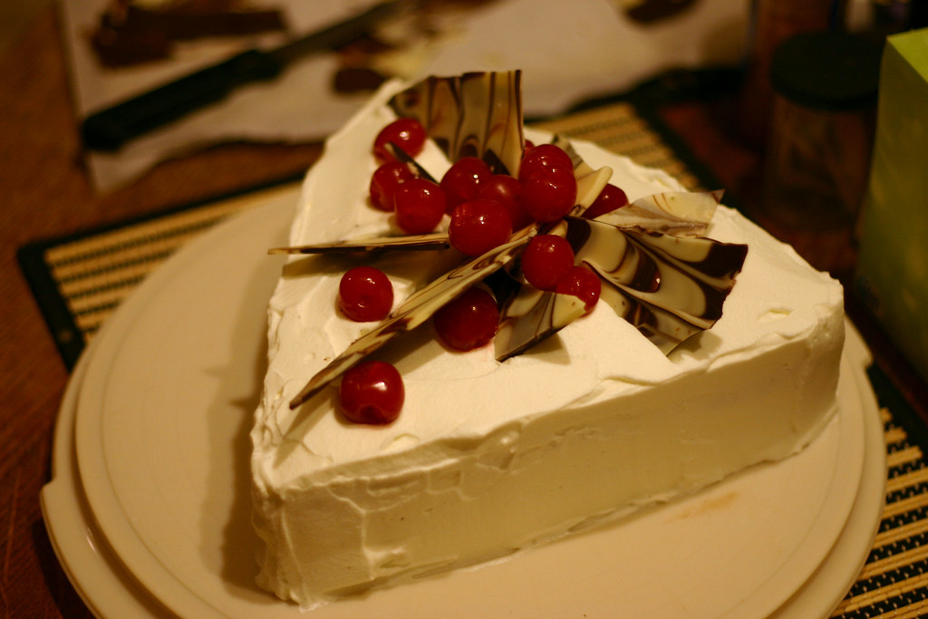 Triangle Blackforest Cake I Did This Up Last Minute Rush