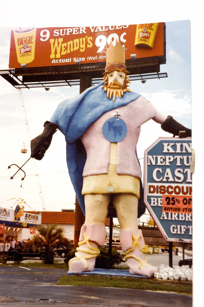 King Neptune S Castle This Was In Panama City Beach Back