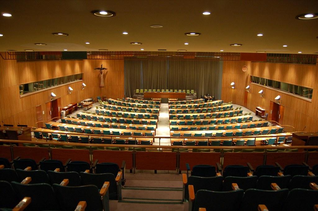 Un Trusteeship Council Room They No Longer Meet As The