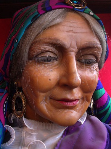 Old Lady Fortune Teller 169 All Rights Reserved Flickr
