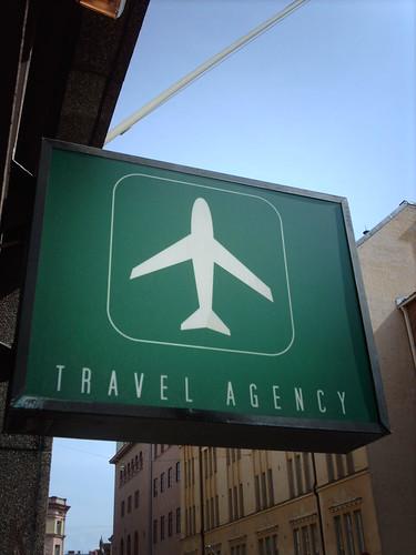 Travel Agency Hugovk Flickr